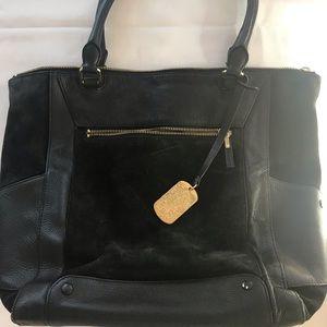 Vince Camuto leather/Suede Handbag